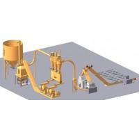 Fabricas de Pellet Energiberia , Pequeñas Producciones y Grandes Plantas