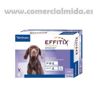 Pipetas Antiparasitarias Effitix M Perros Med