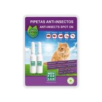 Pipetas Antiparasitarias Natural Menforsan para Gatos ( 2 Unidades )