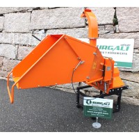 Biotrituradora para Tractor con Alimentador Hidráulico