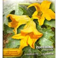 Calabacín para Consumo de las Flores. 4 Gr.