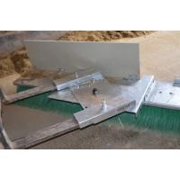 Cepillo de Empuje 2400 Mm Orientable + Arrimador Alimento (Mezcla de Piensos)