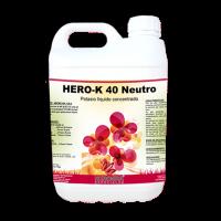 Hero-K 40 Neutro, Abono Foliar de Herogra