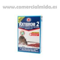 Ratibrom 2 150Gr - Raticida en Cereales Enteros Veneno contra Ratas y Ratones