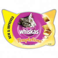 Whiskas Temptations Pollo 60g (X8)