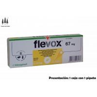 Caja 1 Pipeta Flevox 0,67 Ml 2-10 Kg Anti Pulgas y Garrapatas Perro Pipetas