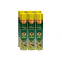 Fertiberia Insecticida Anti Avispas Largo Alcance PACK Ahorro 6 X 750 Ml