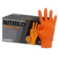 Guante Nitrilo Extreme Naranja XL