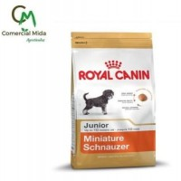 Pienso Royal Canin Miniature Schnauzer Junior 1,5Kg para Perros Cachorros