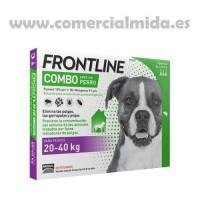 Pipetas Frontline® Combo Perros (20 a 40 Kg)