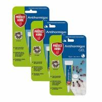 Protect Home Anti Hormigas Cebo en Gel contra Hormigas en Interiores Pack 3x4 Gr