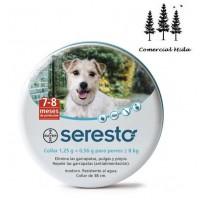 Seresto - Collar Antiparásito de 38 Cm para Perros de Menos de 8 Kg Bayer
