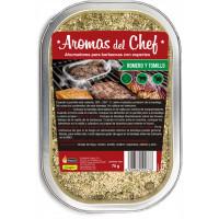 Ahumadores para Barbacoa con Romero y Tomillo - Aromas del Chef Flower - 70 Gr