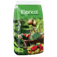 Floricat Substrato Universal Fertilizado 20 L