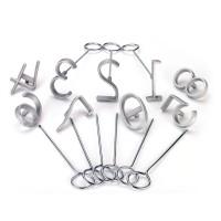 Juego de Numeros Aluminio 6 CM