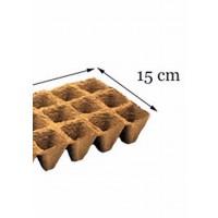 Maceta Semillero Biodegradable de Turba. 12 A