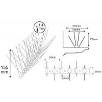Pinchos Control de Aves Spiketrack M140 (10 Mts)