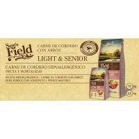 Sam's Field Light & Senior Cordero con Arroz 2.5 Kg