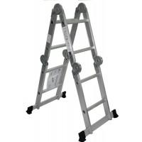 Escalera Aluminio Articulada Multiusos 4x2 Garantizada