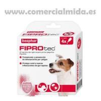 Fiprotec Spot-On para Perros Pequeños 2-10Kg