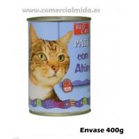 Lata Paté Rico en 400g Comida para Gatos con Atún