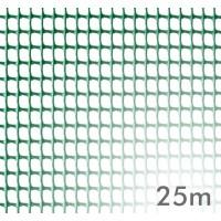 Malla Plastica Cuadrada 5x5 Verde