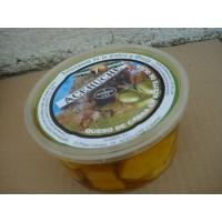Queso de Cabra,guiber en Tacos en  Formato Plastico Tarrina en Aceite de Oliva,500 Gramos Aprox.