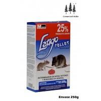 Raticida Látigo Pellet 250g Veneno para Roedores, Ratas y Ratones