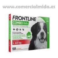 Pipetas Frontline® Combo Perros +40Kg contra