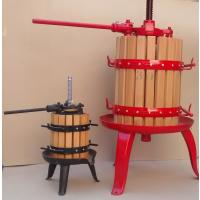 Prensa Manual para Vino, Diámetro 30 Cm - 30 Litros