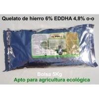 Quelato de Hierro 6% Eddha 4,8% O-O (Apto Agr