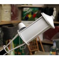 Antorcha en Acero, Color Blanco 150 Cm.