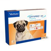 Effipro DUO SPOT ON 4 Pipetas para Perros Peq