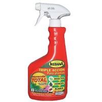 Spray Triple Acción Insecticida, Fungicida y Acaricida Ikebana 750Ml
