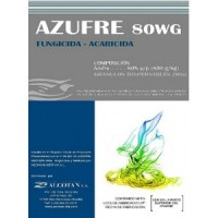 Azufre 80WG , 100Kg (Fungicida) de Agriphar Alcotan