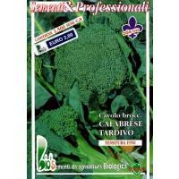 Brocoli Calabres Tardío 25 Gr - Semillas Ecol