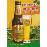 Cerveza Energizante de Hoja de Coca