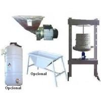 Minialmazara para Elaboración de Aceite de Oliva. RF: 1G