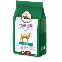Nutro Grain Free Adult Light Cordero 9,5Kg