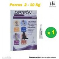 Pipeta Diptron 0,67 Ml Perros 2-10 Kg Pipetas Anti Pulgas,garrapatas Antipulgas