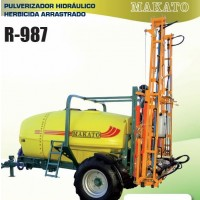 Pulverizador Hidráulico Herbicida Arrastrado  R-987