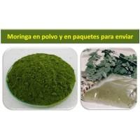 100 Gramos de Polvo de Hojas de Moringa Ecologica Vitalmor