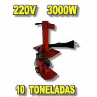 Astilladora 220V de 10 Toneladas Vertical