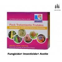 Pack Invierno Tratamiento Frutales (Fungicida+Aceite+Insecticida) Sipcam Jardin
