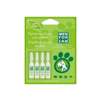 Pipetas Antiparasitarias Natural Menforsan para Perros ( 4 Unidades )