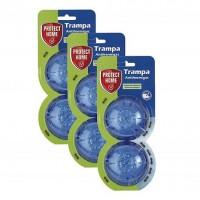 Protect Home Cebo para Hormigas en Gel, Antihormigas para Uso Interior y Exterior, 6 Trampas (3 Packs de 2)