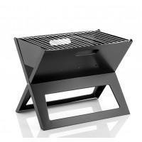 Barbacoa de Carbón Portátil y Plegable. Fabricada en Acero