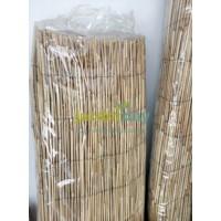 Cerramiento Bambú Natural Cañizo FINO 1,5 X 5