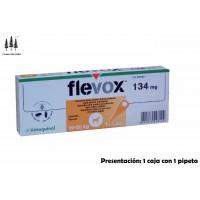 Caja 1 Pipeta Flevox 1,34 Ml Perros 10-20 Kg Pipetas Anti Pulgas y Garrapatas