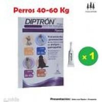 Pipeta Diptron 4,02 Ml Perros 40-60 Kg Pipetas Anti Pulgas,garrapatas Pipette
